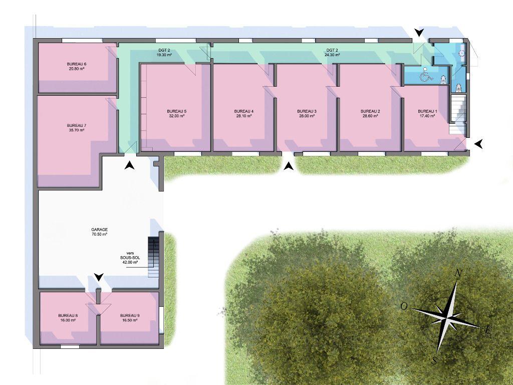 Bureaux - Surgeres - 380 m²