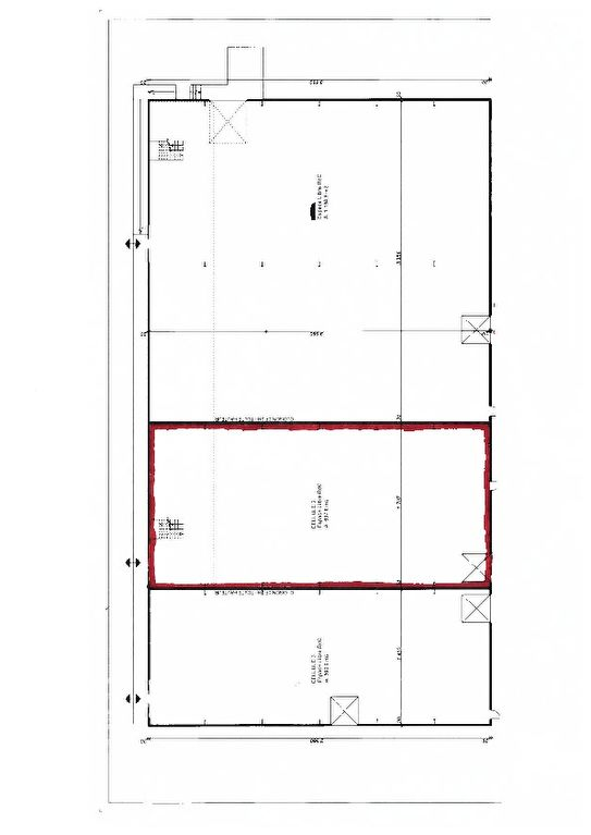 A louer BEFA Local Commercial PERIGNY 500 m² emplacement N°1