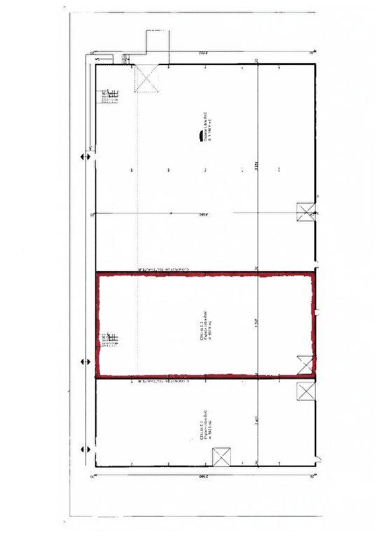 A louer Local d\'activité Perigny 600 m2 emplacement N°1
