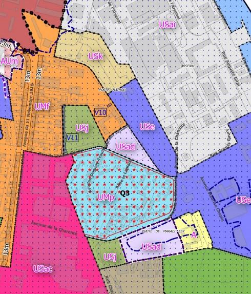 TERRAIN A BATIR - ROCHEFORT - 6170 m2