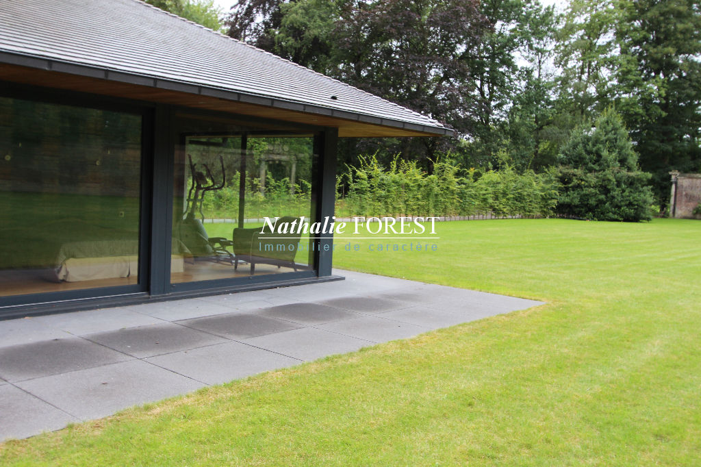 Lambersart EXCLUSIVITÉ, rare maison d'architecte, sur un incroyable terrain de 6000 m2