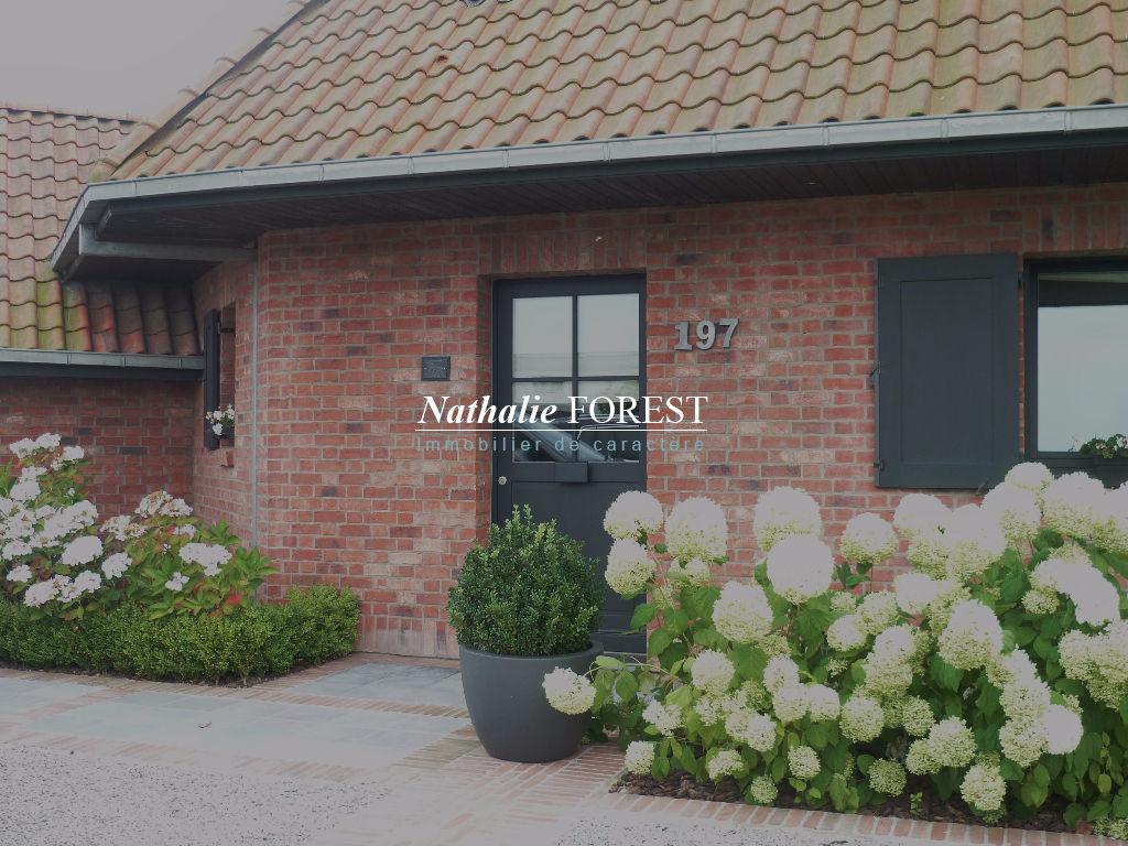Mérignies, au coeur du golf belle Maison d'architecte Demeure du Nord belles prestations et décoration irréprochable bâtie sur une parcelle de 1330 m2