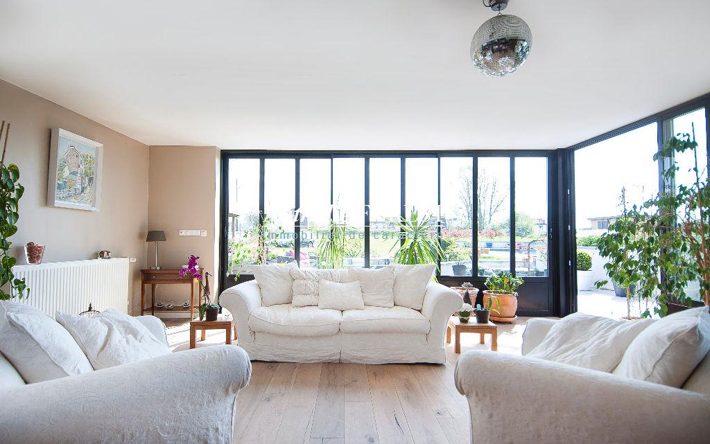 Proximité  RONCQ, MAISON TYPE LOFT sur une belle parcelle de 5500 m2