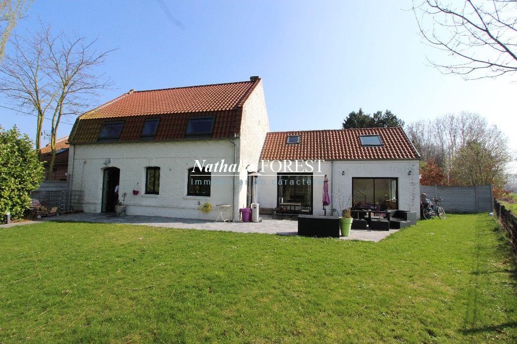 Pévèle - BOUVIGNIES,  Adorable Maison flamande, 4 chambres avec vue imprenable sur la campagne