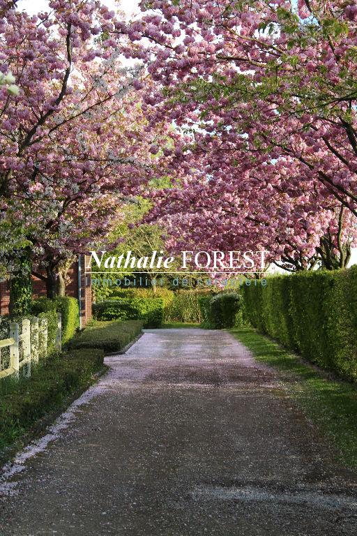 Co-exclusivité .Campagne de  Linselles , splendide propriété sur 11000 M2 de terrain , étang, grange , étables aménagées .