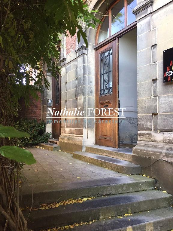 Roubaix , grand Hôtel particulier de 542 m2 hab , usage mixte et division possible sur 1800 m2 de terrain