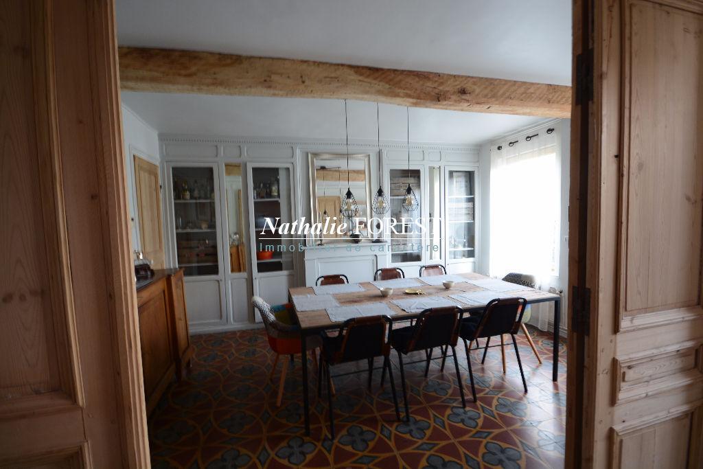 HEM Mairie Atypique maison ancienne de charme entièrement rénovée, jardin 700M2, Garage 1/2 Voitures