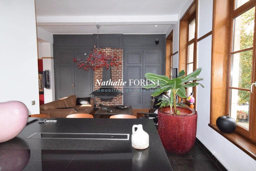 EXCLUSIVITE  ! VIEUX LILLE prox Centre Maison 18ème entièrement rénovée Lille 6 pièce(s) 160 m2 Terrasse plein sud Garage 2 Voitures