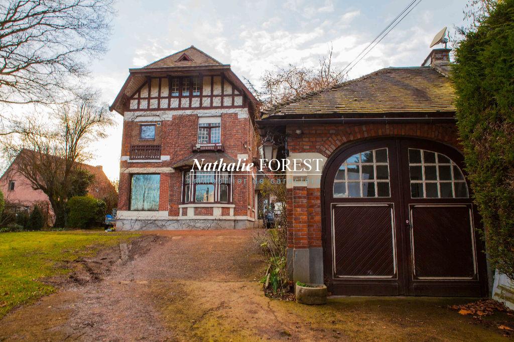 Vallée de la Lys, Charmante Villa Anglo-Normande des années 30 (5ch) sur une parcelle arborée de 1200 m2,