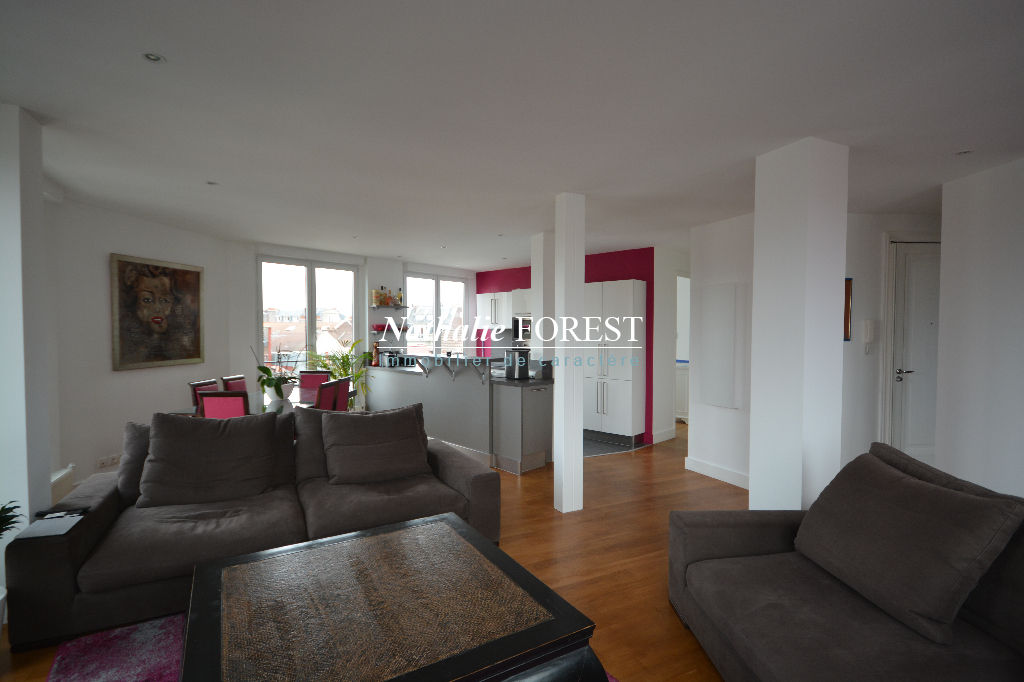 A vendre appartement lille 110 7 m 455 000 for Deco appartement 42m2