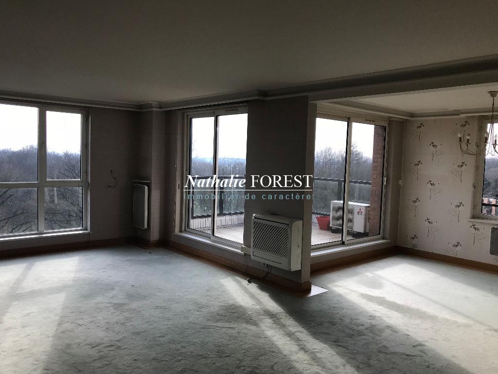 Mouvaux Haumont , exceptionnel appartement de 123.21 m2 avec terrasse plein sud