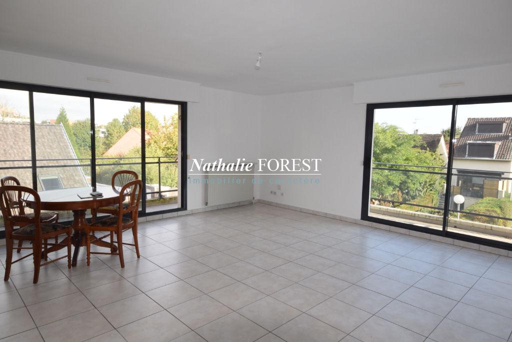MARCQ EN BAROEUL Foch Appartement  3 pièce(s) 78M2 (Loi Carrez) au sein d'une résidence de standing avec terrasses, garage et parking