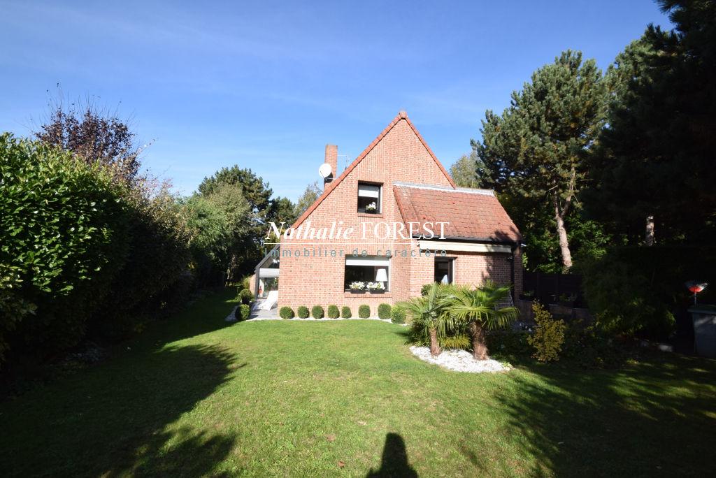 BONDUES Prox Croix Blanche Maison Individuelle d'architecte sur parcelle 1341M2, garage + Carport