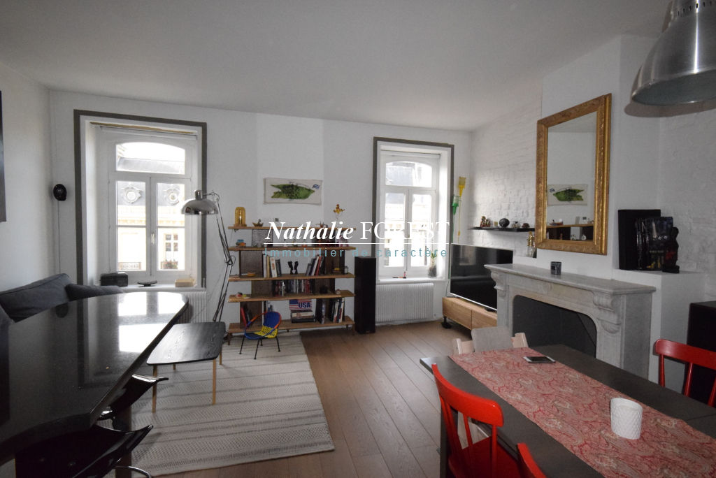 Exclusivité ! Vieux Lille Rue Royale Appartement Lille 3 pièce(s) Duplex 60,41 M2 (Loi Carrez) 76 M2 au sol  au 3ème et dernier étage