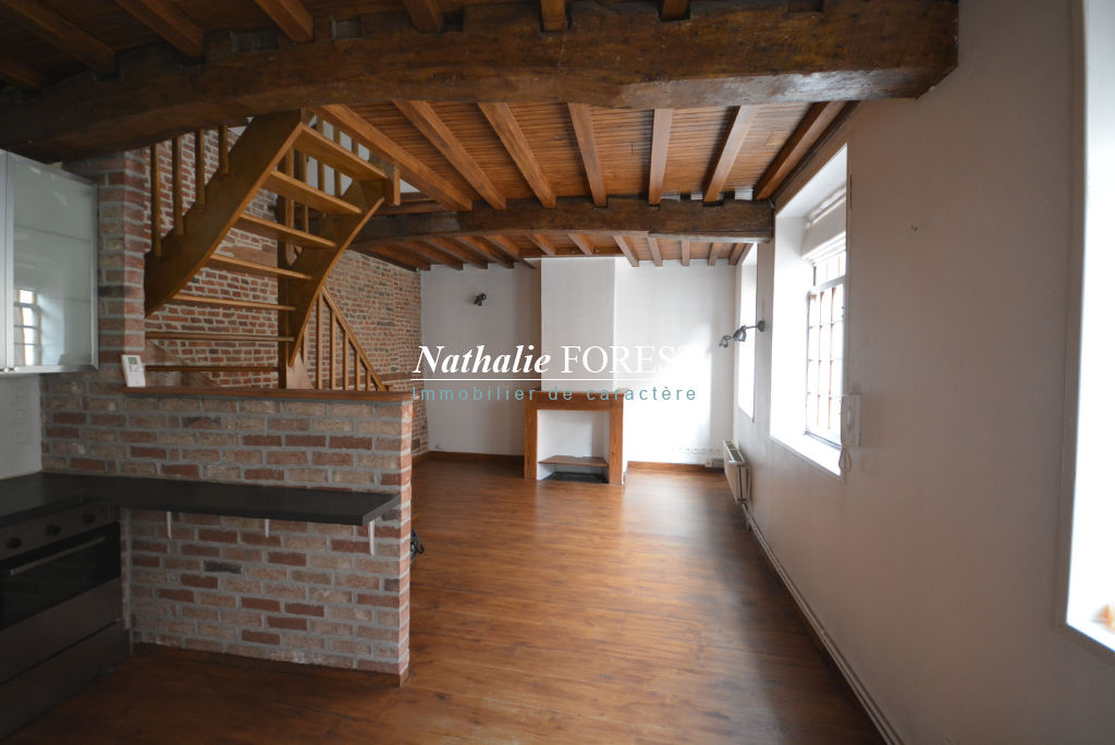 Vieux Lille Secteur Top Maison 18ème rénovée T3  68M2 Hab, Possibilité achat parking sécurisé à proximité