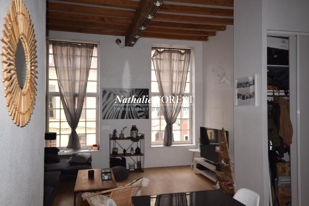 VIEUX LILLE, SECTEUR TOP! Superbe Appartement type 3 de 64 m2