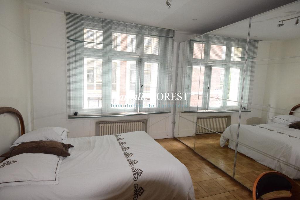 LILLE Quai de Wault  Appartement ancien rénové  3 pièce(s) 114m2, 2 chambres, un parking en location