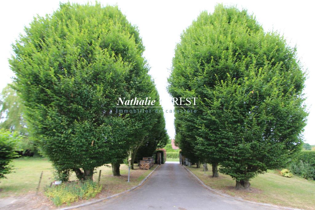 AU COEUR DES WEPPES, Maison plain-pied (4ch) sur une belle parcelle de 7800 m2 (jardin et bois)