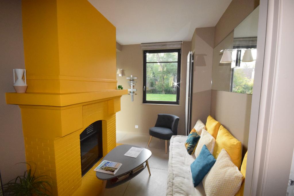 LE TOUQUET Forêt Proche Phare Belle Villa atypique entièrement rénovée implantée sur joli jardin de 1250M2, 4 Chambres, Jardin, garage 2 voitures